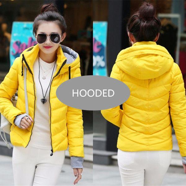Yellow--Hooded