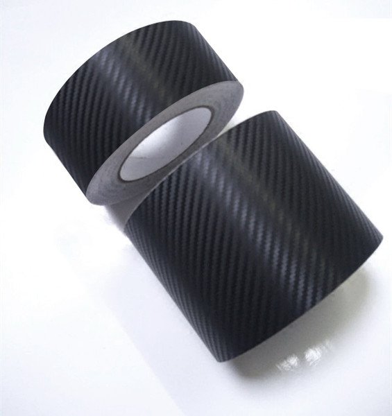 10cmx1.27meter 3D carbon Fiber Film Vinyl Sticker Car Body free shipping Purple Pink Red Green Golden Black Blue White