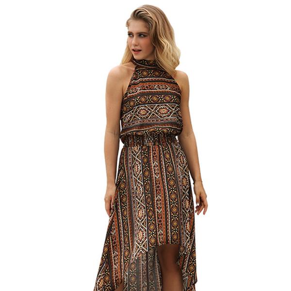 Suit-dress 2019 New Pattern Restore Ancient Ways Skirt Clothes Printing Irregular women mini club Dress fashions maxi dresses plus models