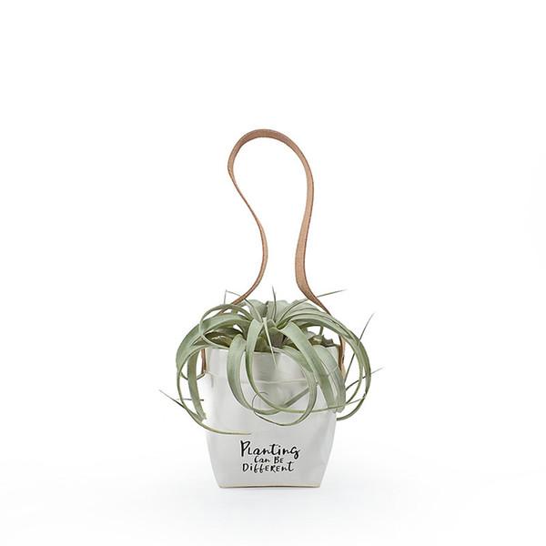nuovi sacchetti di carta Kraft Paper Hanging carta vaso di fiori Decorazione Storage lavabile carta fioriere colore misto Spedizione gratuita