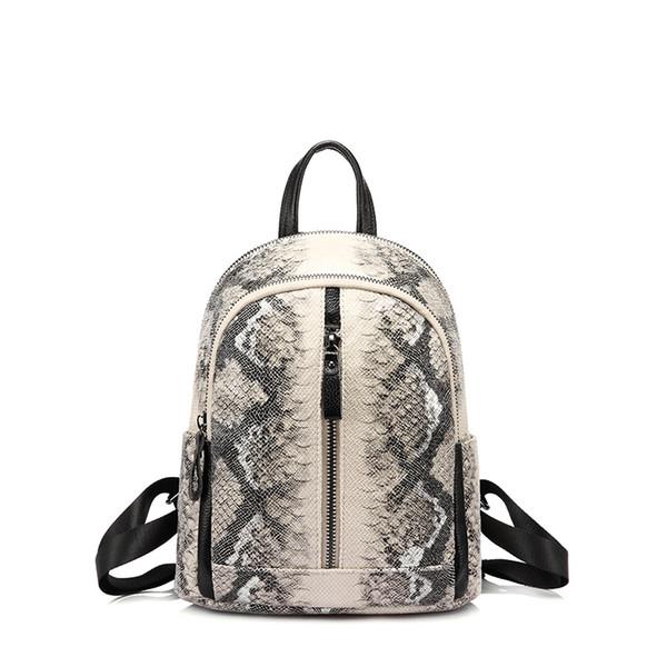 af1bd8d2710e LOVEVOOK женщины маленький рюкзак мини школьный рюкзак для  девочек-подростков искусственная кожа змеиный принты дорожные
