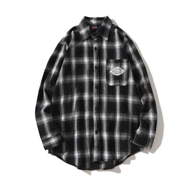 2019 designer shirt classic plaid quality fabric, comfortable experience the latest street fashion sports skateboard shirt