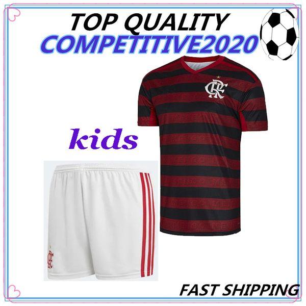 the latest fe466 8172e 2019 Kids Kit 19 20 Flamengo Jersey 2019 2020 Flemish GUERRERO DIEGO  VINICIUS JR Soccer Jerseys Brazil Flamengo GABRIEL B Sports Football Shirt  From ...