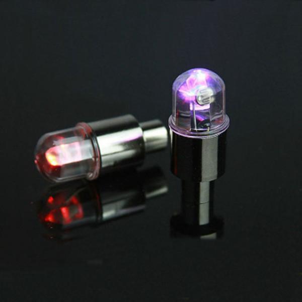 Válvula de luz de neumático de bicicleta luz bicicleta de montaña coloridas ruedas calientes sensación luces de luces lámpara decorativa LJJZ473