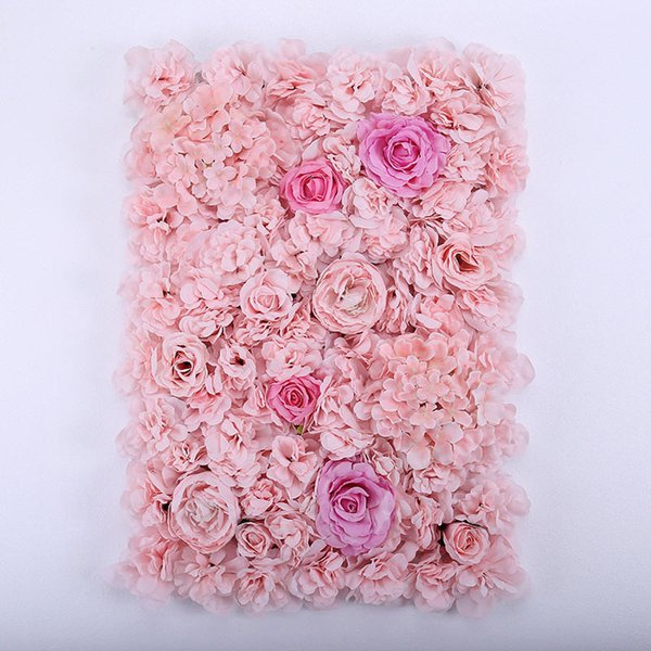 High density light pink rose