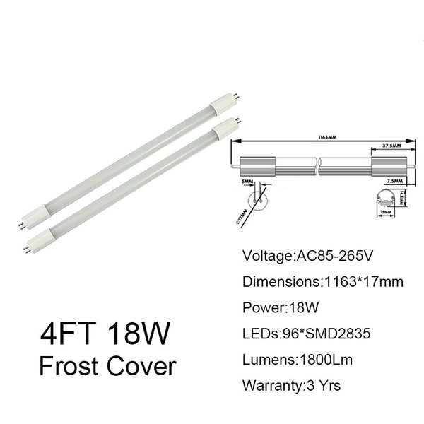 4FT 18W Frosted Cover