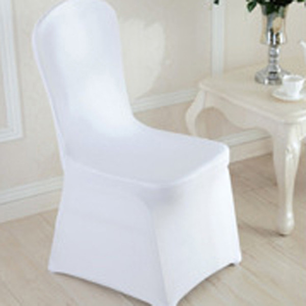 Stupendous Wedding Chair Covers White Stretch Universal Polyester Spandex Chair Cover For Weddings Banquet Restaurant Seat Slipcovers For Sofas Dining Chair Andrewgaddart Wooden Chair Designs For Living Room Andrewgaddartcom