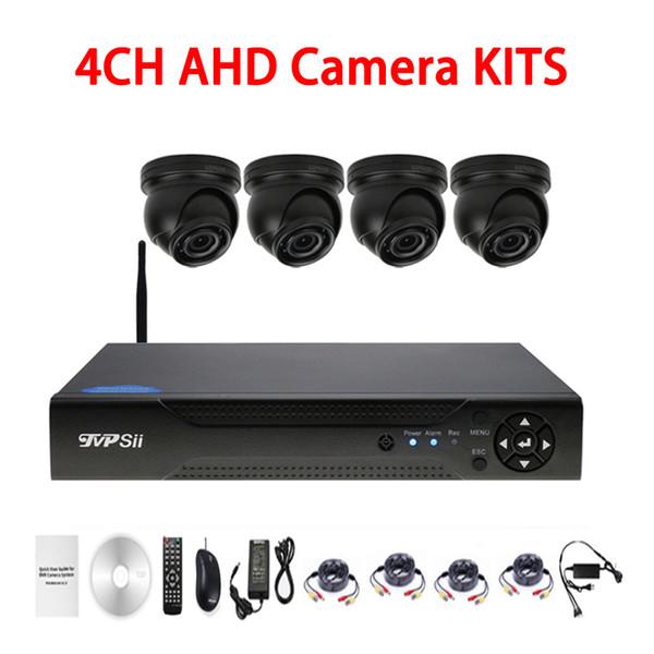 12pcs infrared Led 5mp/4mp/2mp/1mp Waterproof 4CH Mini Dome WIFI AHD CCTV DVR Surveillance Security Camera Kits
