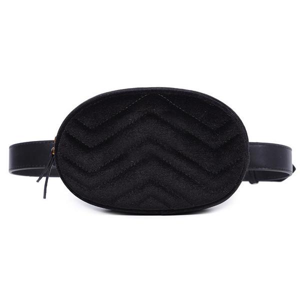 2020 мода новый стиль Женская кожа талии сумки бархатная металлическая пряжка сумка women039; s карманы, с цепным ремнем, пояс 2216