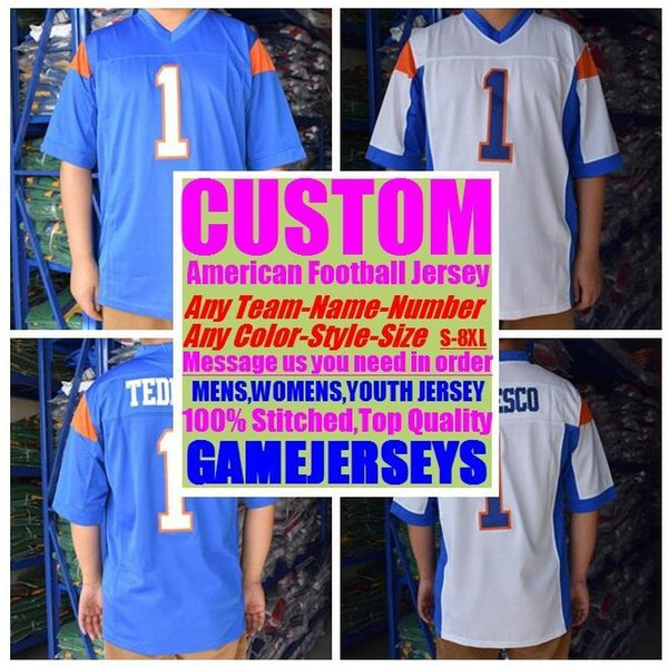 Personalized american football jerseys college cheap authentic olive camo sports jersey stitched men womens youth kids 4xl 5xl 6xl 7xl 8xl