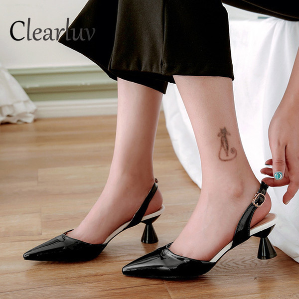 Dress Shoes Fashion Women's Office Suit With Shallow Mouth Women's Elegant Thin Section Pointed Wedding Sexy Bride High Heels