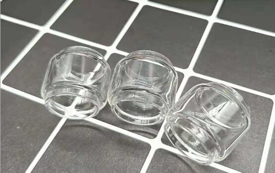 Tube en verre transparent de remplacement en tube de pyrex prolongé de tubes en verre pour le réservoir de kylini v2 en stock