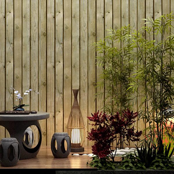 Großhandel 3D Stereo Nachgeahmte Holz Tapete Wohnzimmer Schlafzimmer  Deckendekor PVC Tapeten Wasserdicht Papel De Parede Von Margueriter, $51.26  Auf ...