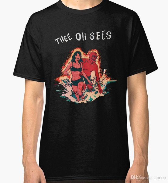 T Gömlek Logo Erkekler 'S Thee Oh 2 Yeni Kısa Kollu Baskı Ekip Boyun Gömlek Görür