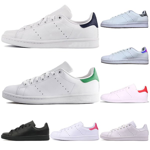 Hot Sale stan fashion Casual Shoes for men women smith men womens green triple white black red blue outdoor leather sports sneakers shoes