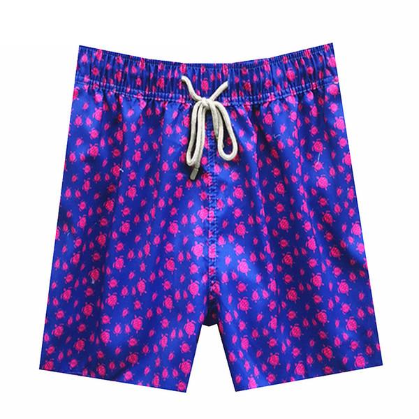 Vilebrequin Mens Shorts Plage marque française 036 poulpe étoile de mer tortue d'impression Bermudes Maillots de bain planche mâle Shorts Nouveau style séchage rapide