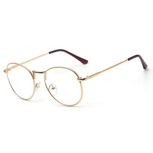 New Spectacle frame round Glasses frame clear lens Women brand Eyewear optical frames myopia nerd black red eyeglasses