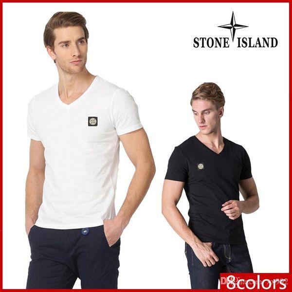 2019ss neue heiße T-Shirts für Herren Shirt Herren Sommer Kurzarm-Shirt T-Shirt Marke Herren T-Shirt M-3XL Größe T-shi