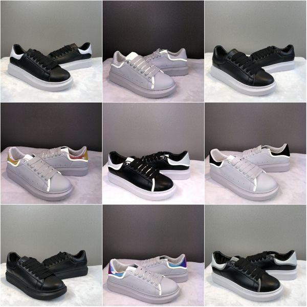 3M reflektierende OG Weiß Schwarz Herren Designer Schuhe 2019 Fashion Luxury Designer Damen Schuhe Party Platform Casual Sneakers EUR 36-44