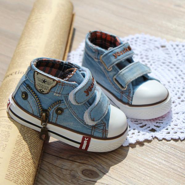 Atmungsaktive Schuhe Großhandel Stil Leinwand Mode Turnschuhe Baby Neue Mädchen Jungen Casual Und Wohnungen Kind 19 Kinder Größe MVjqzGUpLS