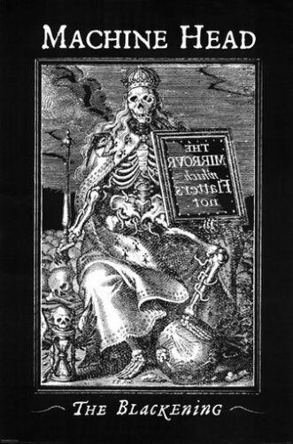 MACHINE HEAD The Blackening Art Silk Poster 24x36inch 24x43inch 0587