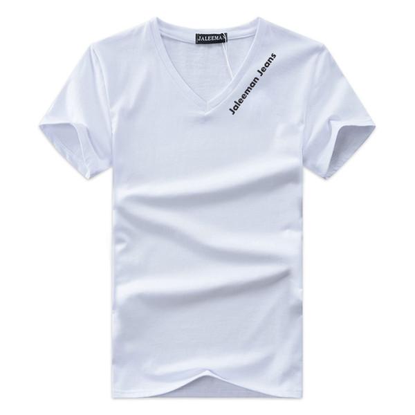 Designer V-ausschnitt T-shirts Für Männer Tops Brief Stickerei T-shirt Herrenbekleidung Marke Kurzarm T-shirt Frauen Tops XS-4XL