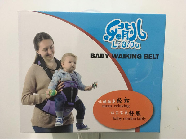 Refreshing Concise Single Shoulder Function Baby Ventilation Stool Waist Stool Baby Articles Luxury Case