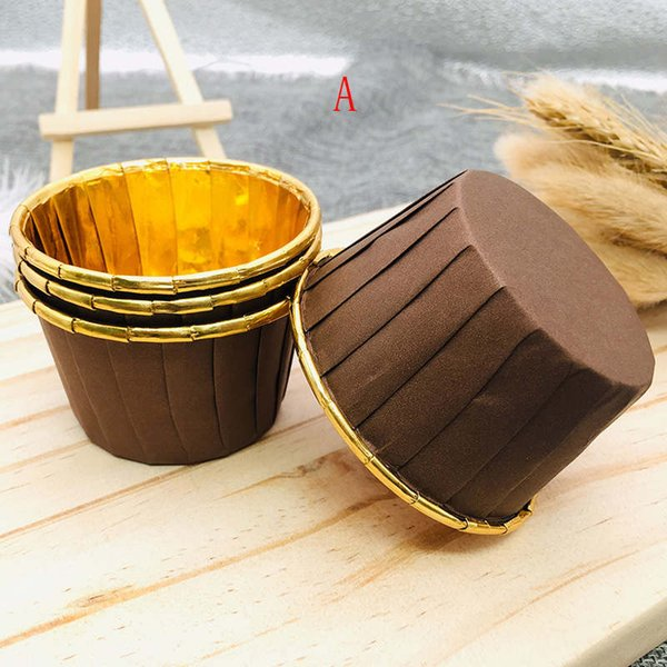 Colorful Paper Cake Cupcake Liner Baking Muffin Box Cup Party Tray Cake Mold cake supplies YT0080