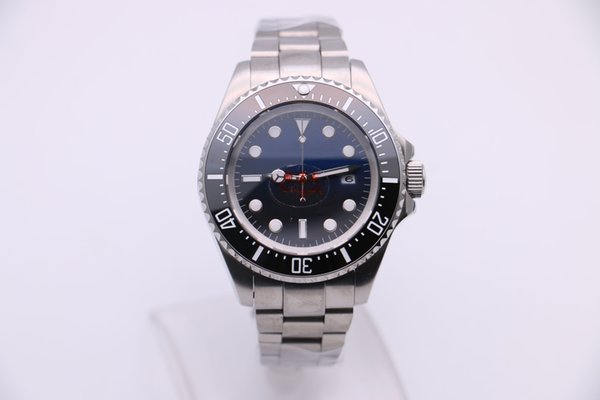 4 models Men's stainless 116660 Good Black Sea-dweller Ceramic Black blue Dial m126660 Automatic Mechanical Master Men Basel Watches