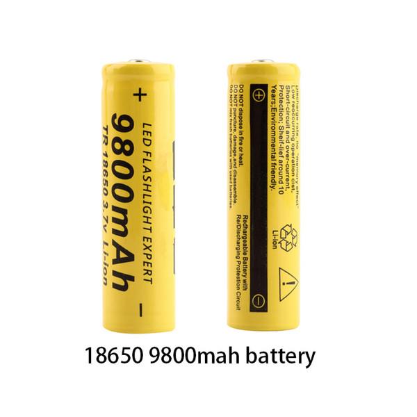 10 шт. новый оригинальный 18650 аккумулятор 3.7 v 9800mah литиевая аккумуляторная батарея для SKOANBE фонарик батареи vtc5 батареи