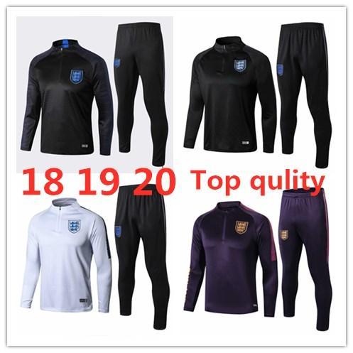 Nacional jaqueta equipe adulta de futebol KANE sportswear 19 camisa de futebol 20 STERLING fato de treino Rashford Vardy DELE Jersey