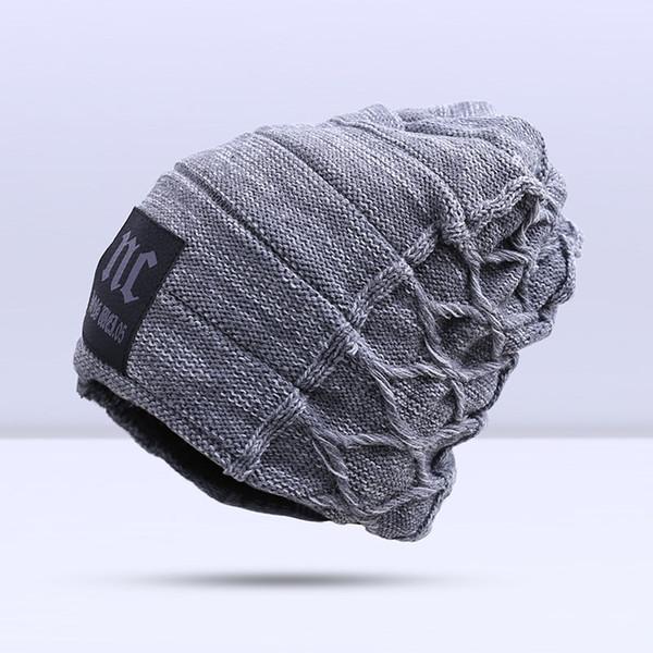 2019 stylish skullies beanies winter hats man thick warm winter hat male thick hat beanies cap men's winter caps toucas gorros