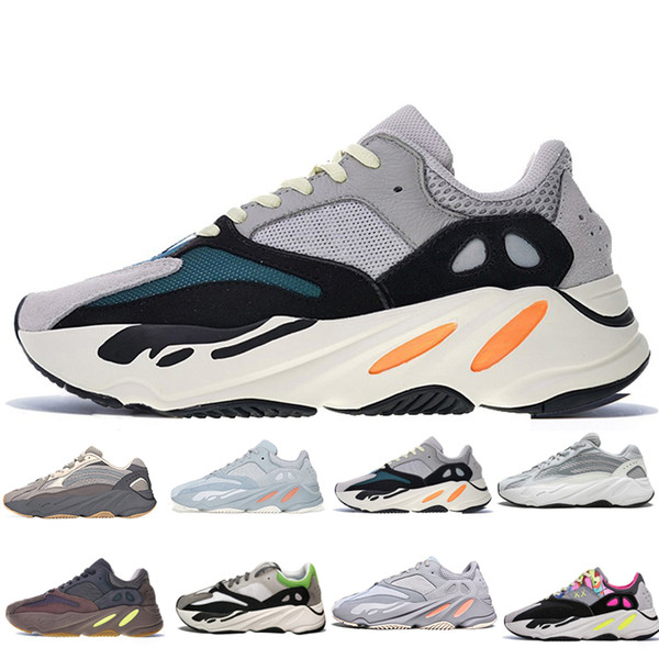 8dea3e841 700 Inertia Wave Runner OG Solid Grey Mauve Women Men Running Shoes 700 V2  Static Kanye