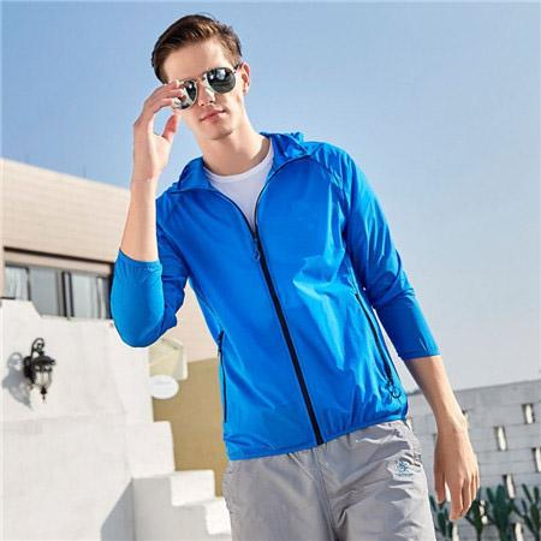 2019 Yeni Tasarımcı Erkek Moda Gevşek Rüzgarlık Marka Yüksek Kalite Uzun Kollu ve Doğal Renkler ile Spor Ceket için Boyut M-4XL QSL198268