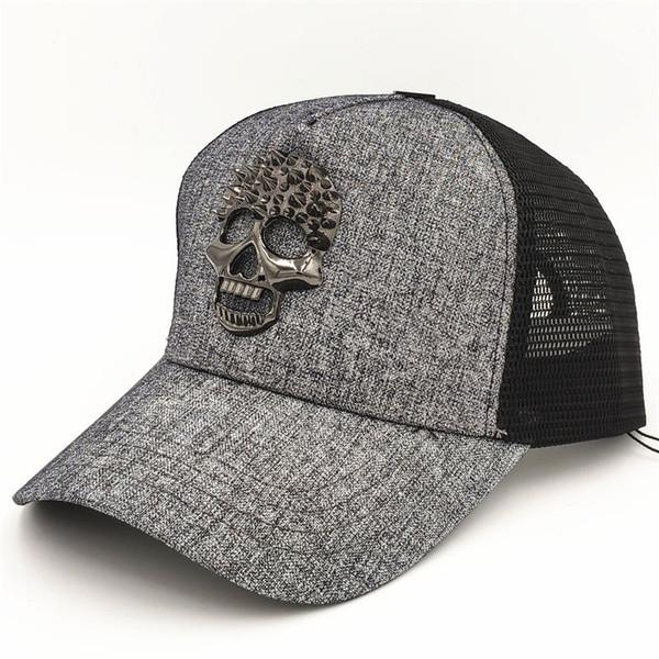Summer Mesh Ball Hats Unisex Golf Sport Caps Women Fashion Sun Hat Men Tide Adjustable Snapback Cap High Quality Skull Hat Casquette