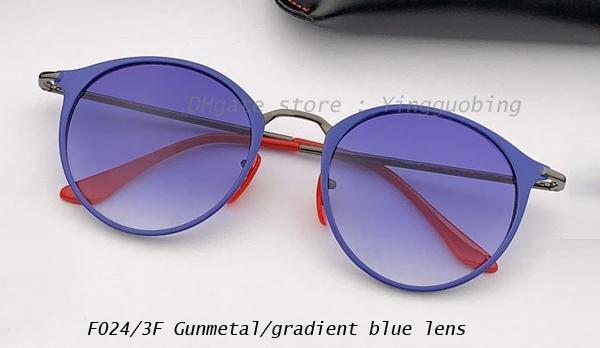 Rotguss / Farbverlauf blau