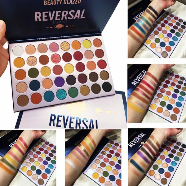 Makeup eye hadow palette beauty glazed rever al planet 40 color eye hadow ultra glitter himmer matte nude palette face brand co metic