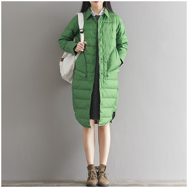 Winter jackets and parka coats for women Pink Red Black Green Womens Parka Long Down Jackets Plus Size Woman Winter Warm Coat