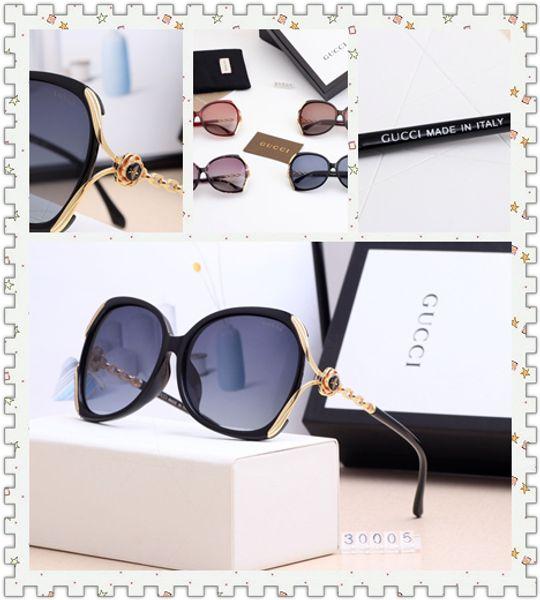 2019 gafas de sol de moda de diseñador, gafas de sol de diseño ultraligero, lentes Polaroid de alta definición (30005)