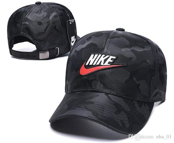 Atacado nbspNike Mais Novo Casquette gorra Snapback Caps Boné de Beisebol Ajustável hip hop Chapéu osso Moda pai chapéus para homem mulheres Snapback