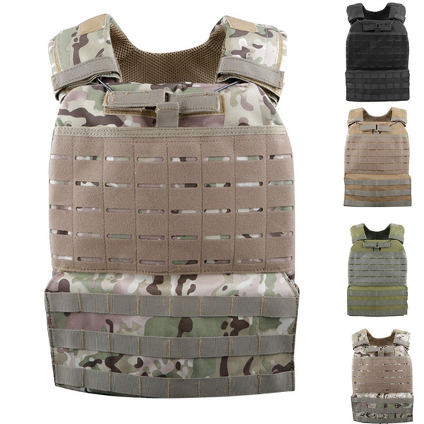 Tactical Vest Molle Combat Assault Tactical Vests Multicam CS Outdoor Clothing Hunting Vest