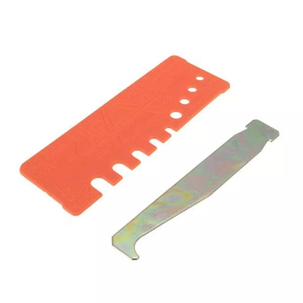 Chainsaw Chain Tool Quick Check Gauge and Bar Groove Cleaner