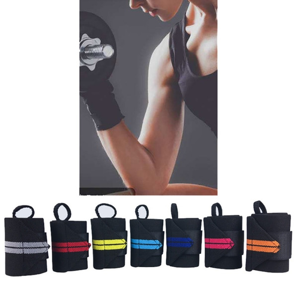 1Pcs Fitness Wrist Wraps Straps Men Gym Weightlifting Wristband Crossfit Wrist Bracer Support Gloves Sports Hand Bands #344626
