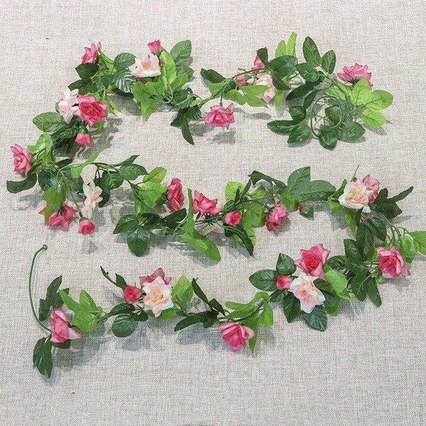 Rose red +pink