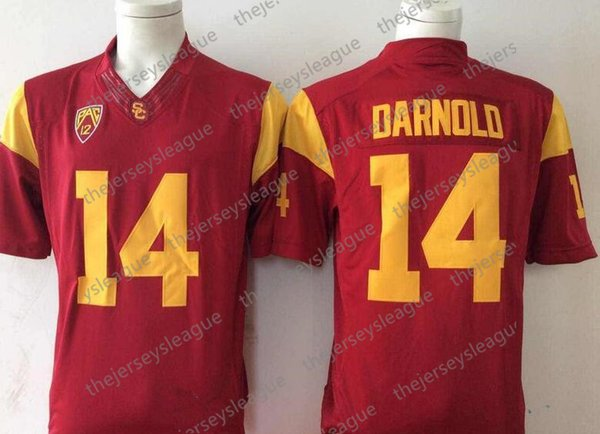 14 Sam Darnold Red