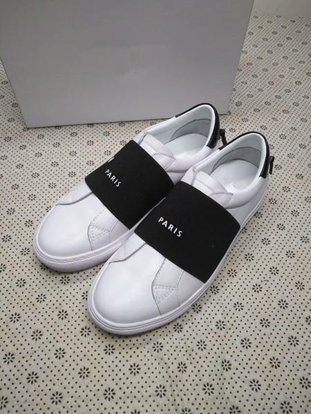 Herren Damen Freizeitschuhe Sommer Atmungsaktiver Sneaker Graviertes Leder Paris Weiße Schuhe Muffin Sports Sneakers Flaches Leder ys180301017