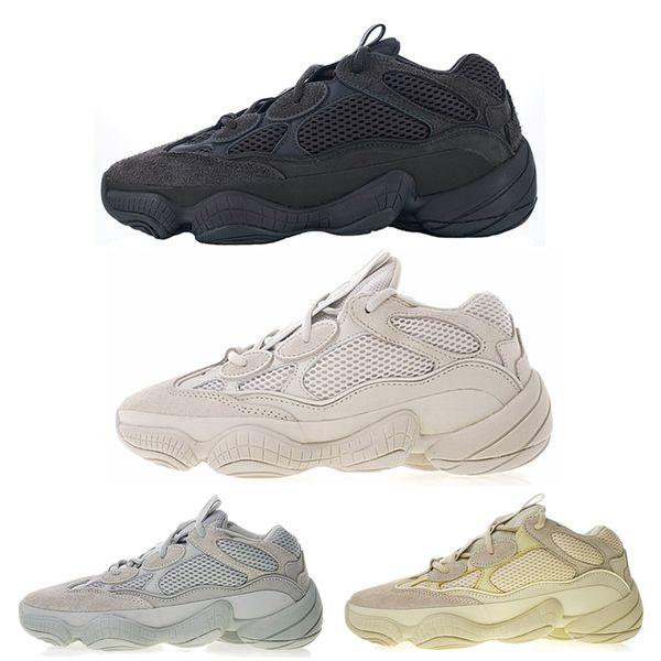 New Bone White DESERT RAT Kanye West men designer shoes mens womens Utility Black Blush Salt running shoes sneakers trainers hots