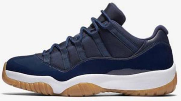 low navy gum