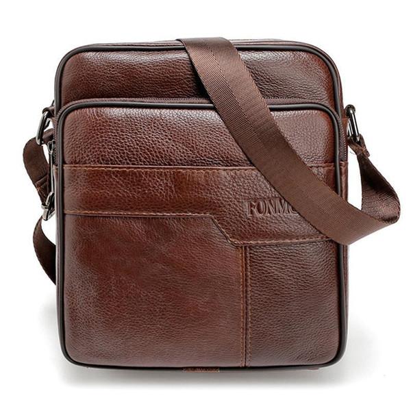 High Quality Business Travel Shoulder Handbag European Style Man Portfolio Office Bag For Man Brand Designer Male Crossbody Bag