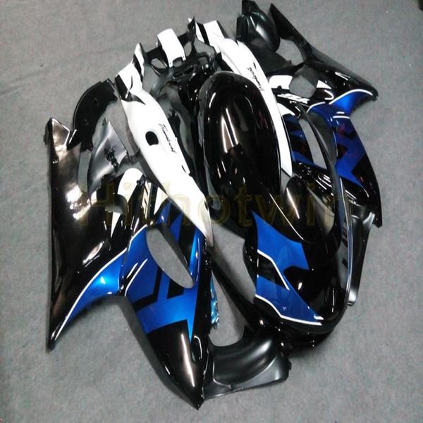 Articoli da regalo + personalizzato blu moto nera carenatura per Yamaha YZF600R 1997 1998 1999 2000 2001 2002 2003 2004 2005 Thundercat